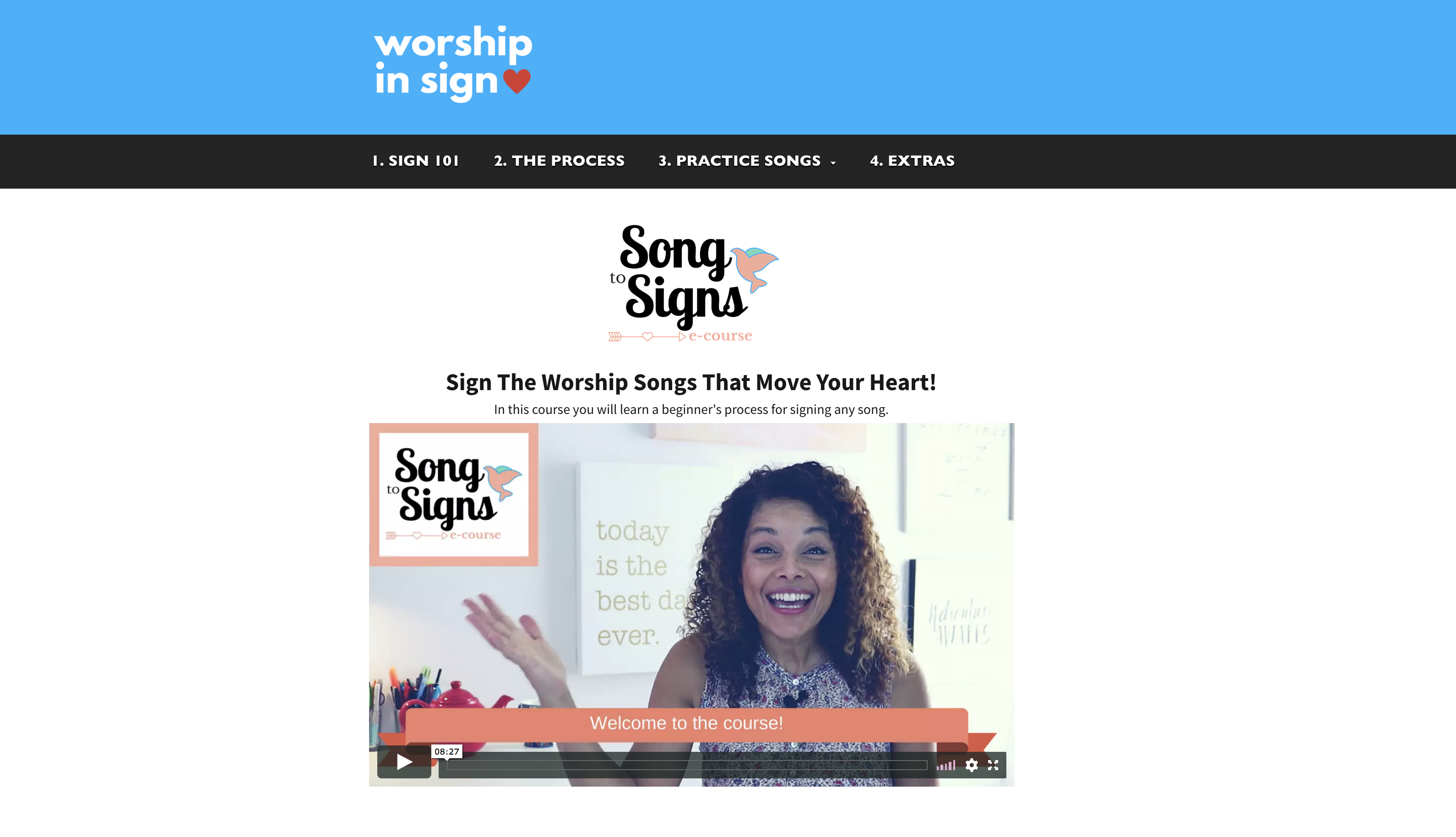 learn sign language worship today